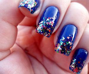 nails, girly, and nail polish image