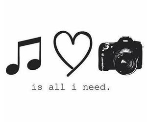 music, love, and camera image