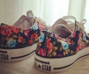 colors, flowers, and shoes image