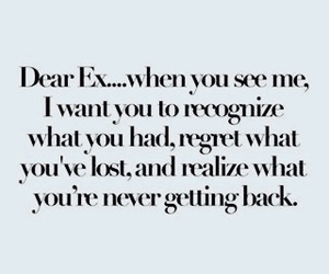 ex, quote, and lost image