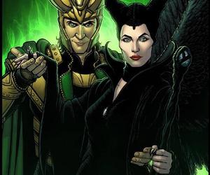 loki, Marvel, and thor image
