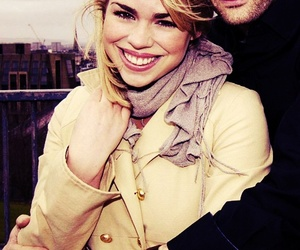 david tennant, billie piper, and doctor who image