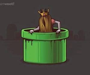 princess, game, and mario image