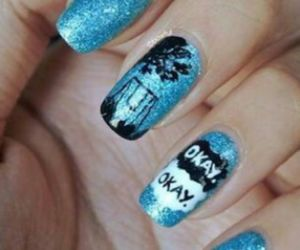 blue, nails, and the fault in our stars image