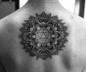 back, black and white, and ink image