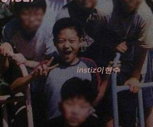 childhood, myungsoo, and predebut image