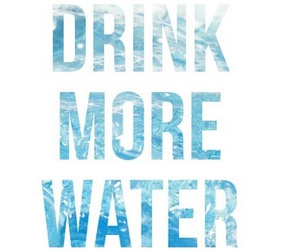 water, drink, and quote image