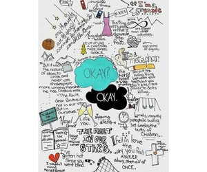 the fault in our stars and book image