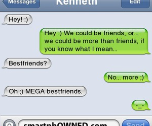 funny, smart phone, and more than friends image