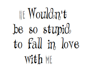 fall in love, he, and me image