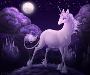 horse, pink, and unicorn image