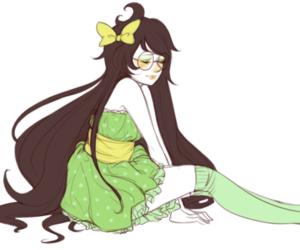 homestuck, jade, and cute image