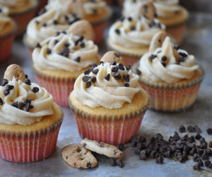 cookie, cupcake, and dough image