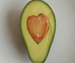 food, happy, and heart image
