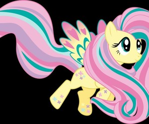 my little pony, rainbow poder, and fluttershy image