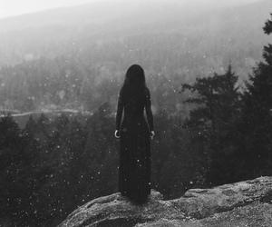 black, dark, and black and white image