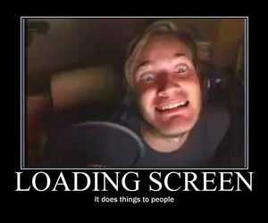 pewdiepie, funny, and lol image