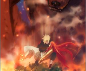 fire, naruto, and kushina uzumaki image