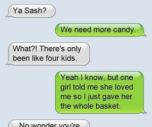 candy, funny, and kids image