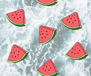 wallpaper, watermelon, and cool image