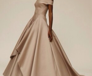 ball gown, designer, and Zac Posen image