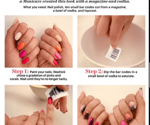 barcode, colorful, and nails image