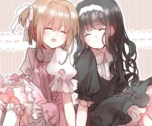 sakura, tomoyo, and love image