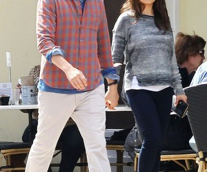 ashton kutcher, Mila Kunis, and pregnant image