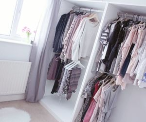clothes, closet, and inspiration image
