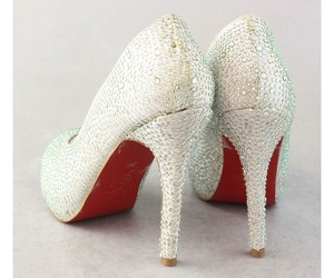 heels, shoes, and red image