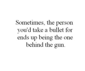quotes, gun, and bullet image