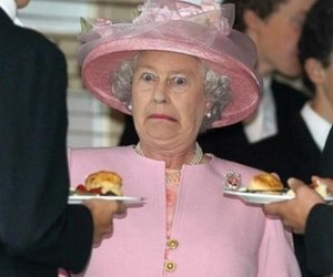 Queen, food, and funny image