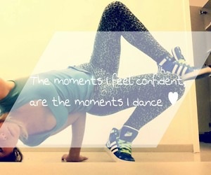 dance, model, and quotes image