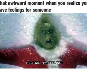 love, grinch, and feelings image