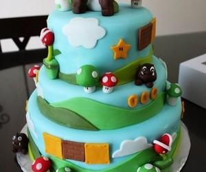 yoshi and cake image