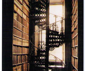 book, library, and trinity college image