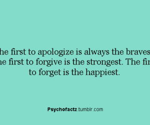 brave, forget, and forgive image