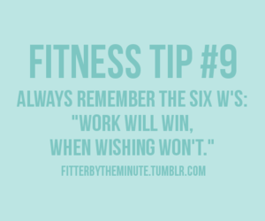 quote, fitnesstip, and sixw's image