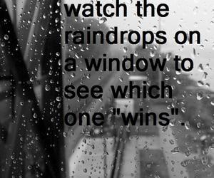 raindrops, memories, and rain image