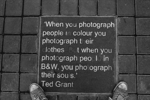 Quotes On Black And White Photography