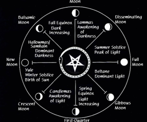 moon and satanism image