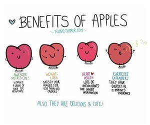 apples, food, and yummy image