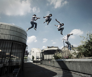 parkour and sport image