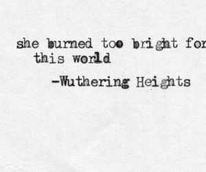 emily bronte, heights, and wuthering image