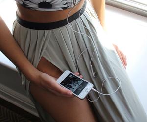 boho, girly, and phone image