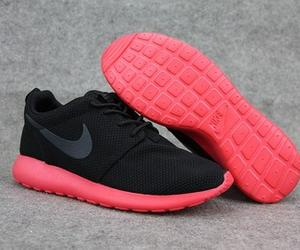 nike, black, and pink image