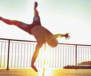 bboy, breakdance, and dance image