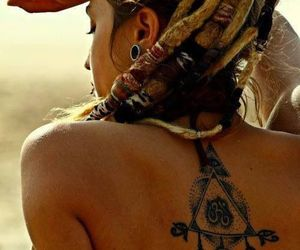 dreads, enlightenment, and ink image
