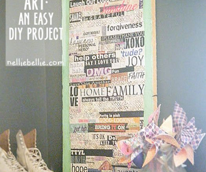 art, diy, and Easy image