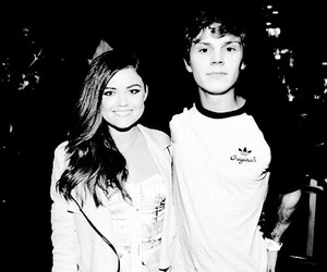 lucy hale, pretty little liars, and evan peters image